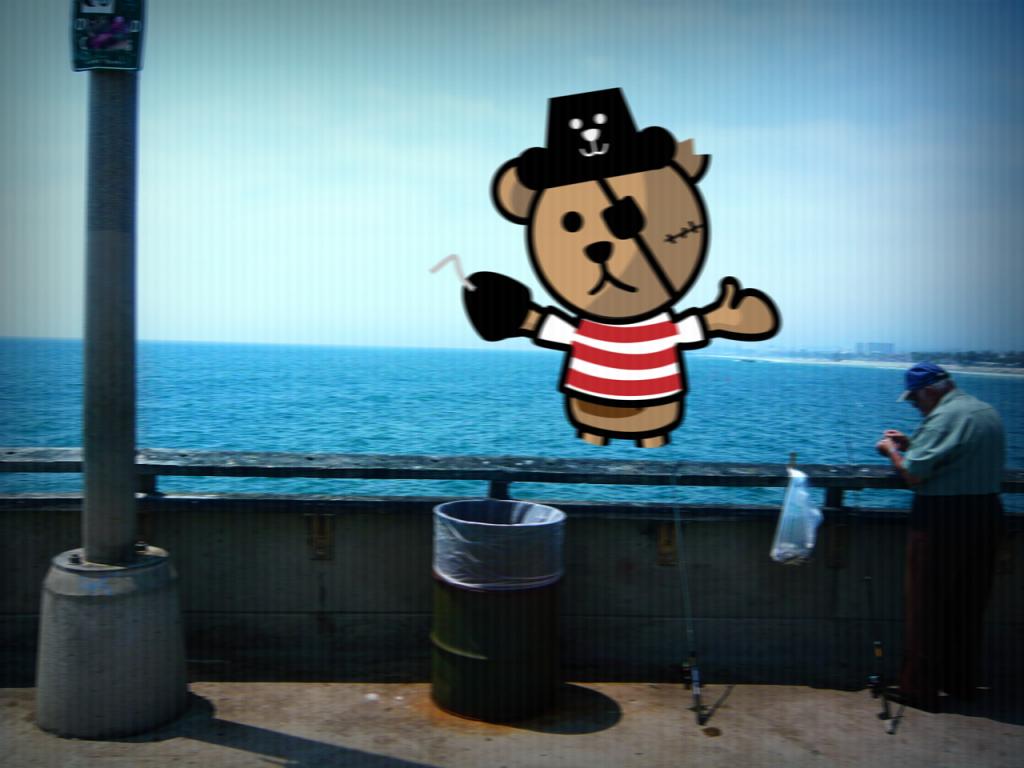 Bear Attack @ Santa Monica Pier