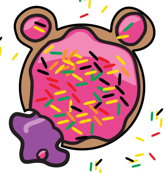 Bear Doughnut